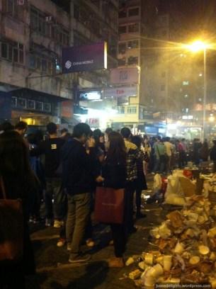Crazy long queues; Kweilin Street Night Market