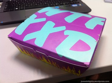 Bento box; WTF!?XXD