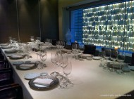 Private dining table; 8 ½ Otto e Mezzo BOMBANA