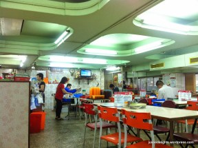 Interior; Mai Tak Cafe