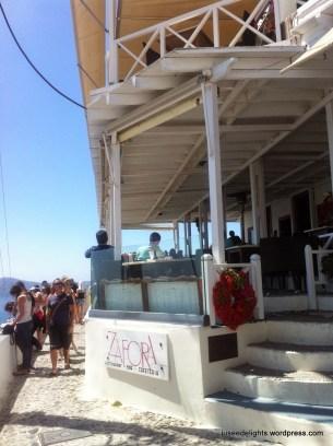 Exterior; Zafora, Santorini, Greece