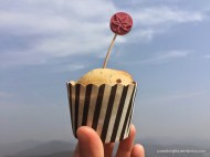 Chocolate chip & poppy seed muffin (photo by Poey); Ngong Ping picnic