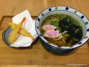 Prawn Tempura Udon Soup; Uchi