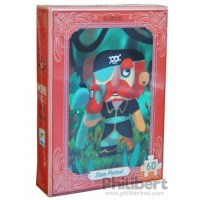 djeco-mini-puzzle-sam-parrot-60-pieces
