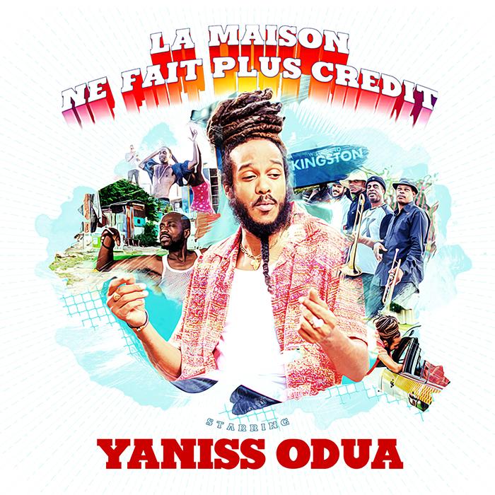 COVER SINGLE YANISS ODUA - LA MAISON NE FAIT PLUS CREDIT - BD JustMusic.fr