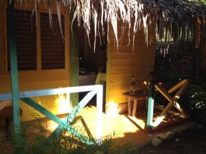 Hütte in Alis Surfcamp Cabarete