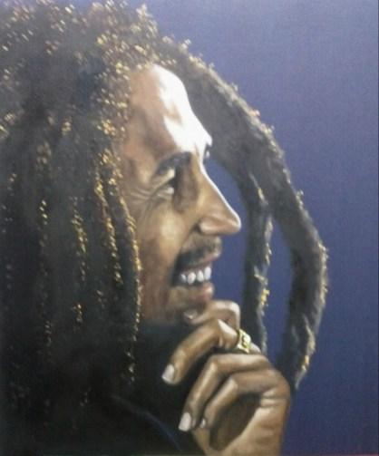Bob Marley by Raul Oliveros Cantiillo