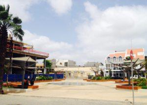 Bauarbeiten Santa Maria Sal Kapverden