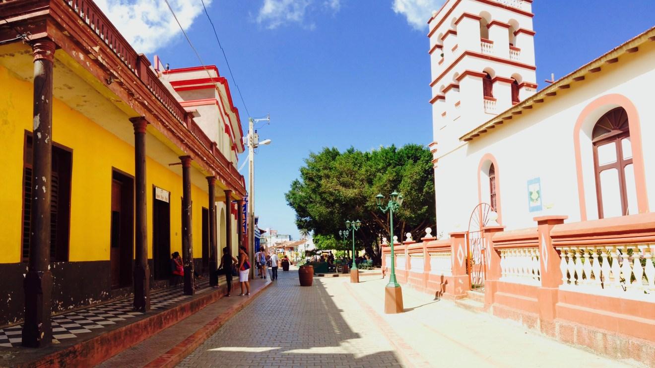 Baracoa Stadt Zentrum