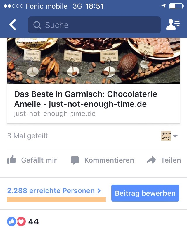 Facebookreichweiter