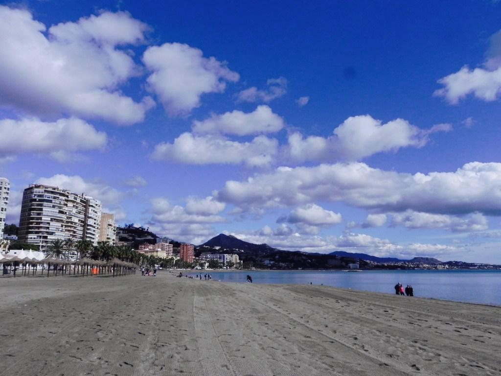 Traumstrand von Malaga