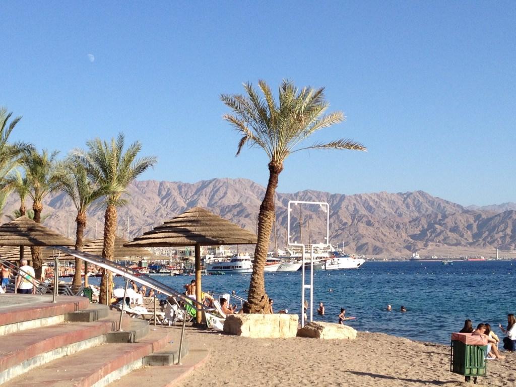 Eilat Strand Israel