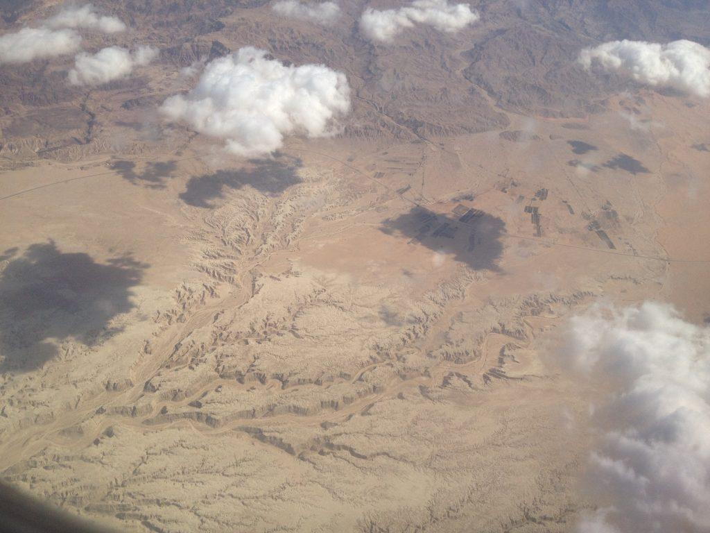 Einfliegen in Eilat Israel