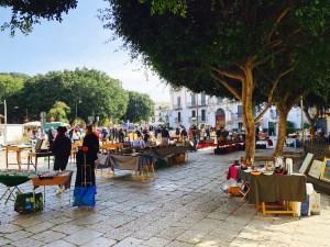 Palermo Flohmarkt Piazza Marina
