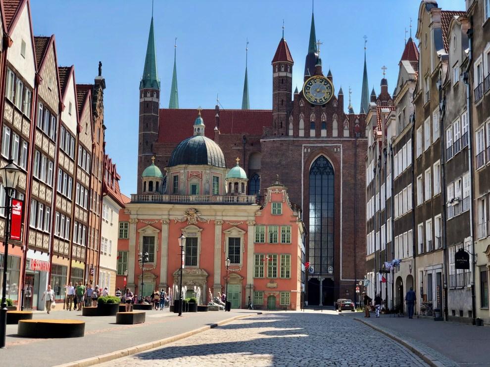Danzig Architektur Marienkirche