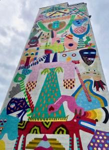 Danzig Zaspa Mural bunt Tipp