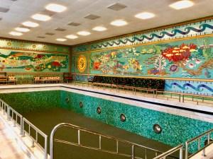 Ceaușescu Haus Swimming Pool Bukarest Tipp