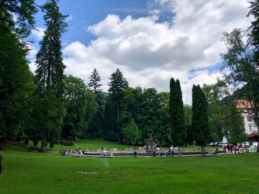 Park Sinaia Rumänien