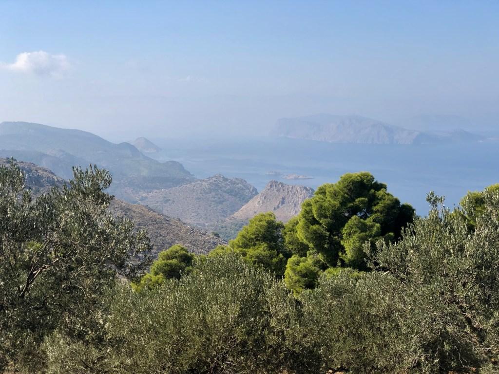 Aussicht Hydra Insel