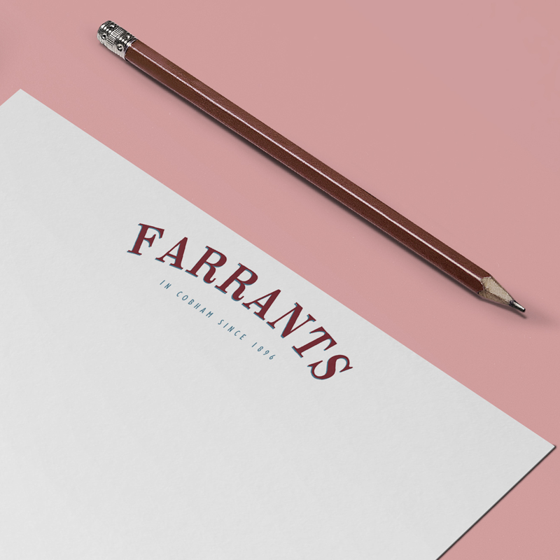 Farrants identity by Just Us