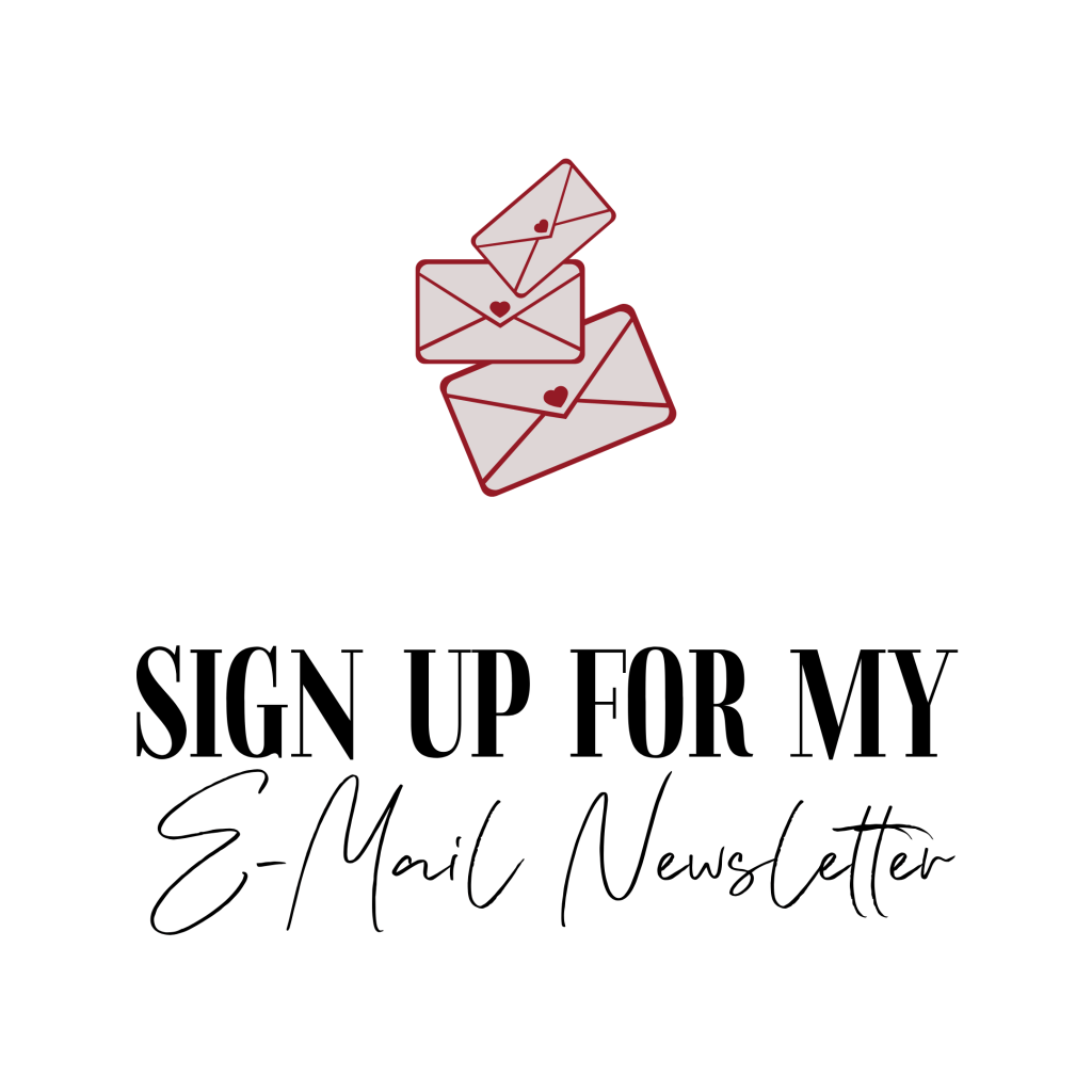 Button - Sign Up for My E-mail Newsletter