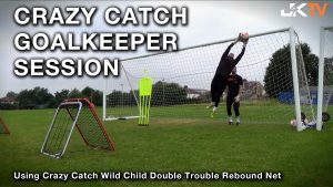 Goalkeeper Training - Crazy Catch Rebounder session