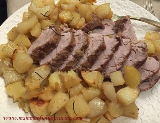 Filetto-di-Maiale-con-salsa-alla-malvasia-e-al-melograno