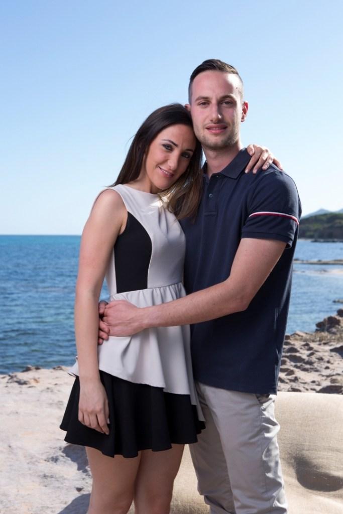 Francesca e Ruben Temptation Island
