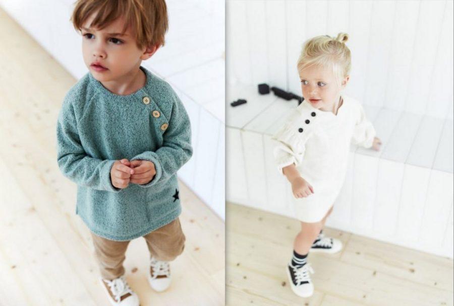 Back to school con gli outfit Zara per i bambini da 3 mesi a 4 anni
