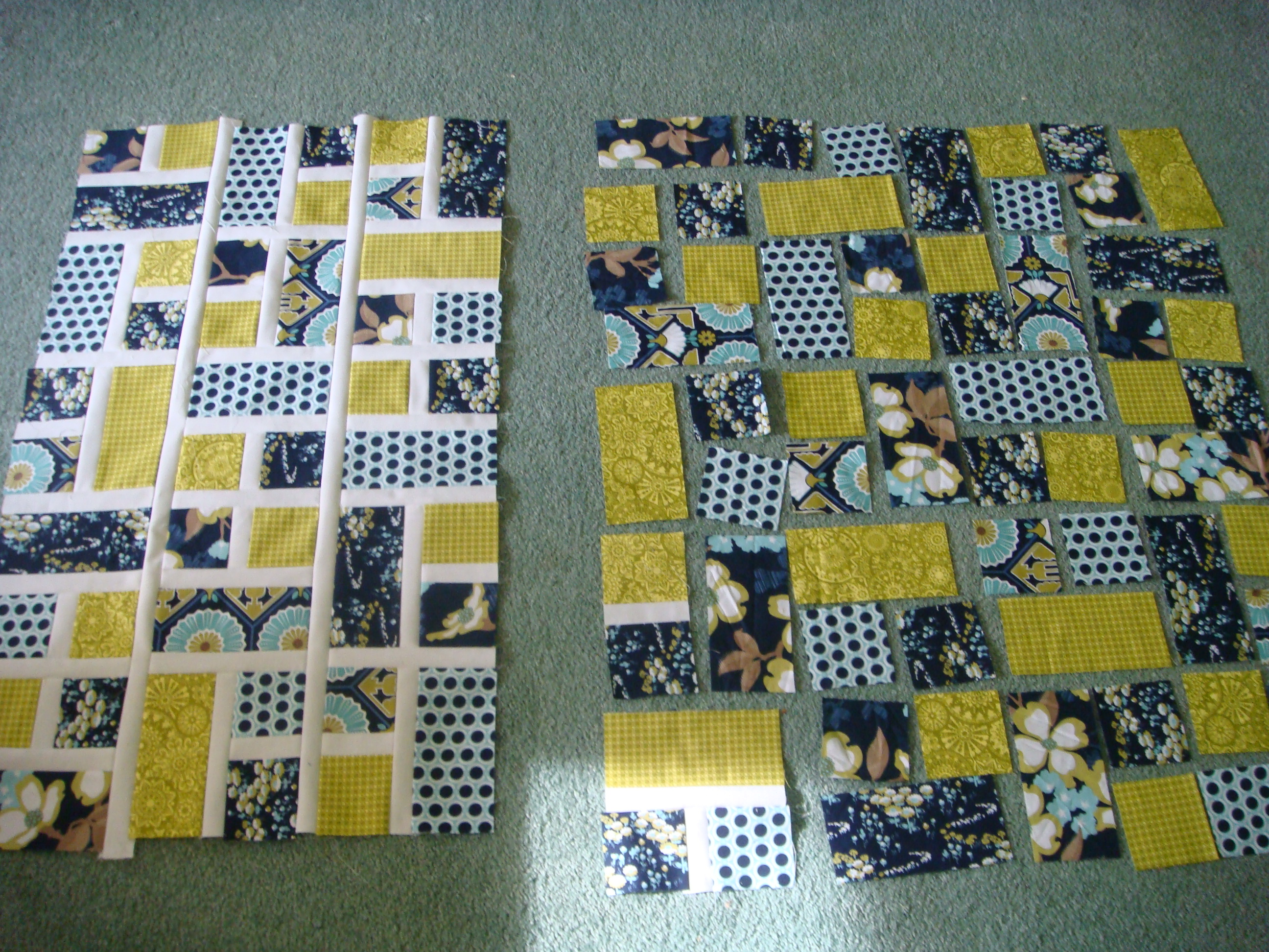 Rectangle Squared Quilt