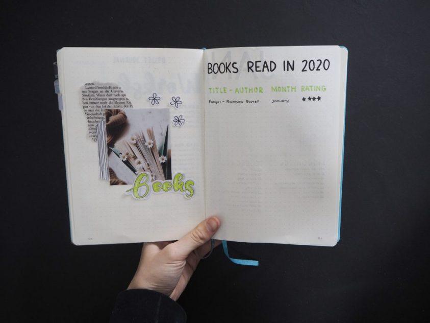 Bullet Journal Ideas for Booklovers