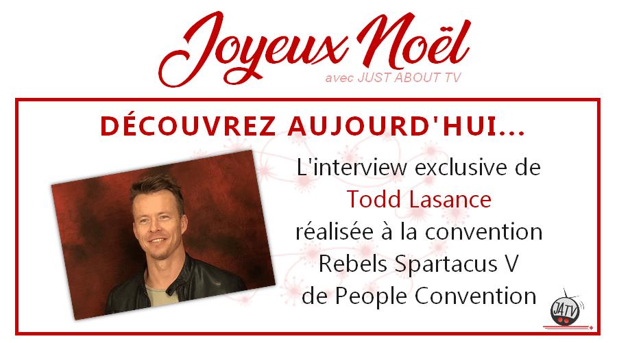 [Calendrier de l'avent – Jour 19] Interview de Todd Lasance lors de la Rebels Spartacus V