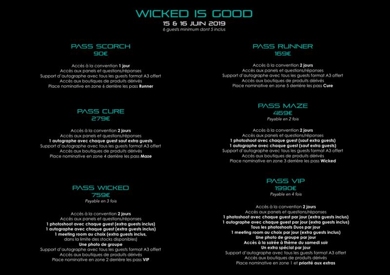 Focus sur la prochaine convention de Dream it : Wicked is good