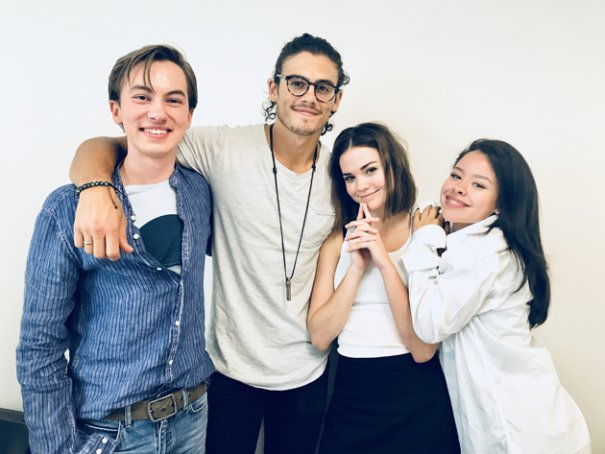 Hayden Byerly guest star dans le spin off de The Fosters