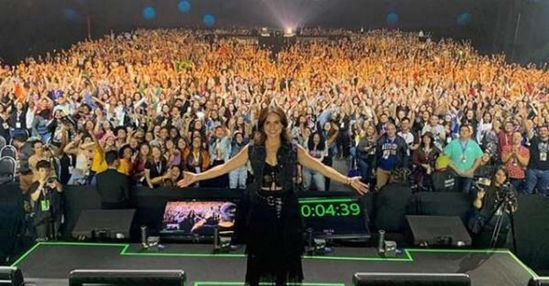 Once Upon A Time Lana Parrilla n'exclut pas un retour de Regina CCXP Sao Paulo