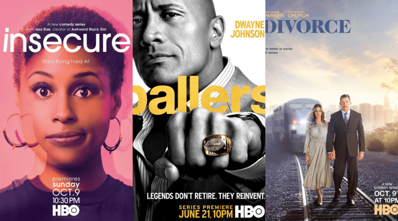 HBO renouvelle Insecure, Ballers et Divorce
