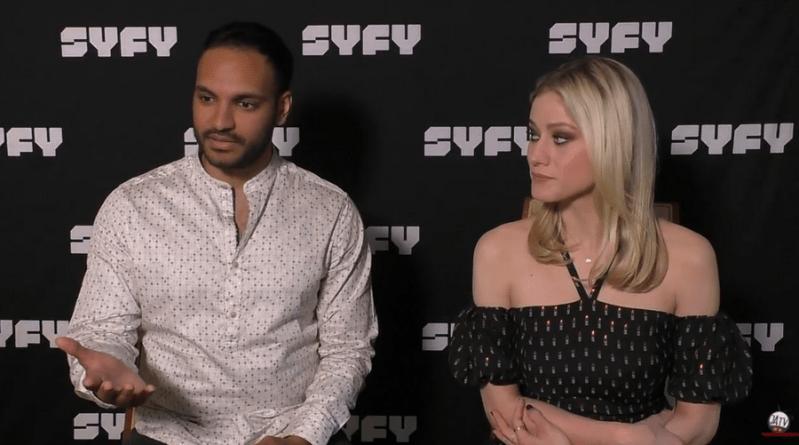 The Magicians : entretien avec Olivia Taylor Dudley et Arjun Gupta