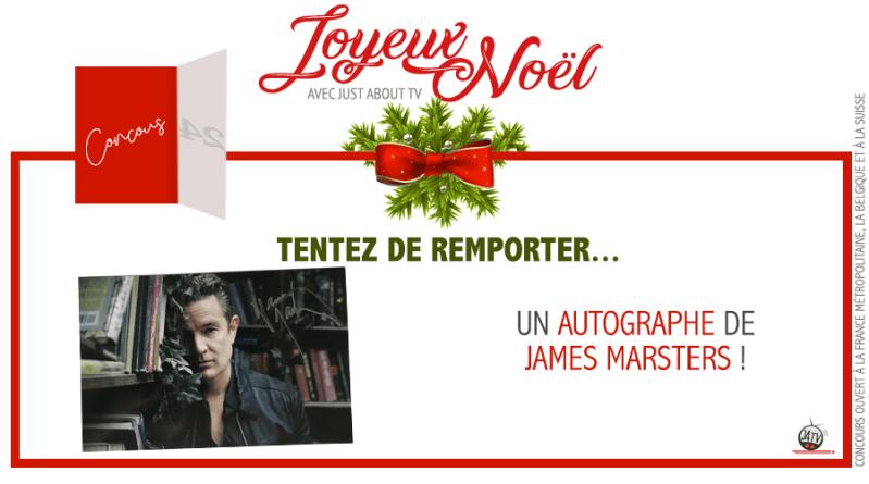 CONCOURS SURPRISE : Tentez de remporter un autographe de James Marsters !