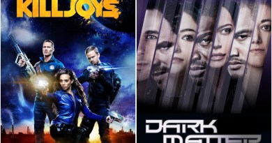 Starfury Conventions annonce une convention Killjoys / Dark Matter pour 2018