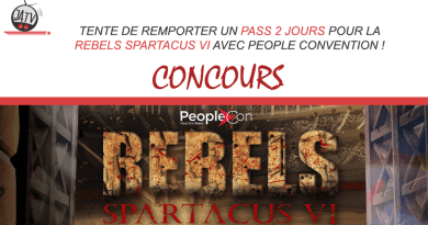 Rebels Spartacus VI de People Convention : tentez de reporter un pass 2 jours !
