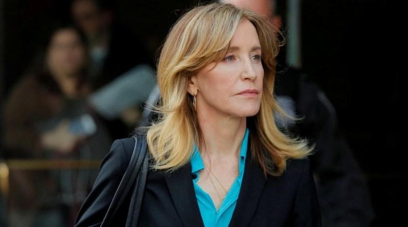 14 jours de prison pour l'actrice Felicity Huffman
