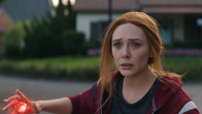 Elizabeth Olsen interprète Wanda dans WandaVision