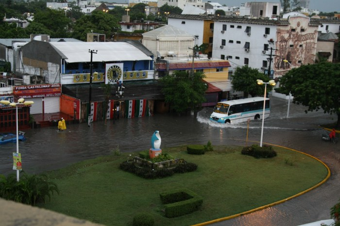 Cancun Flood