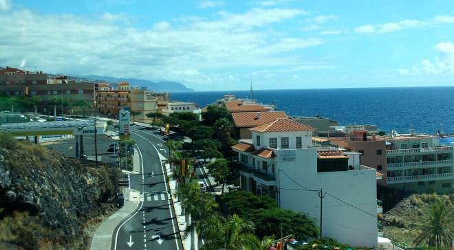 Roadside scenery en route to Santa Cruz de Tenerife
