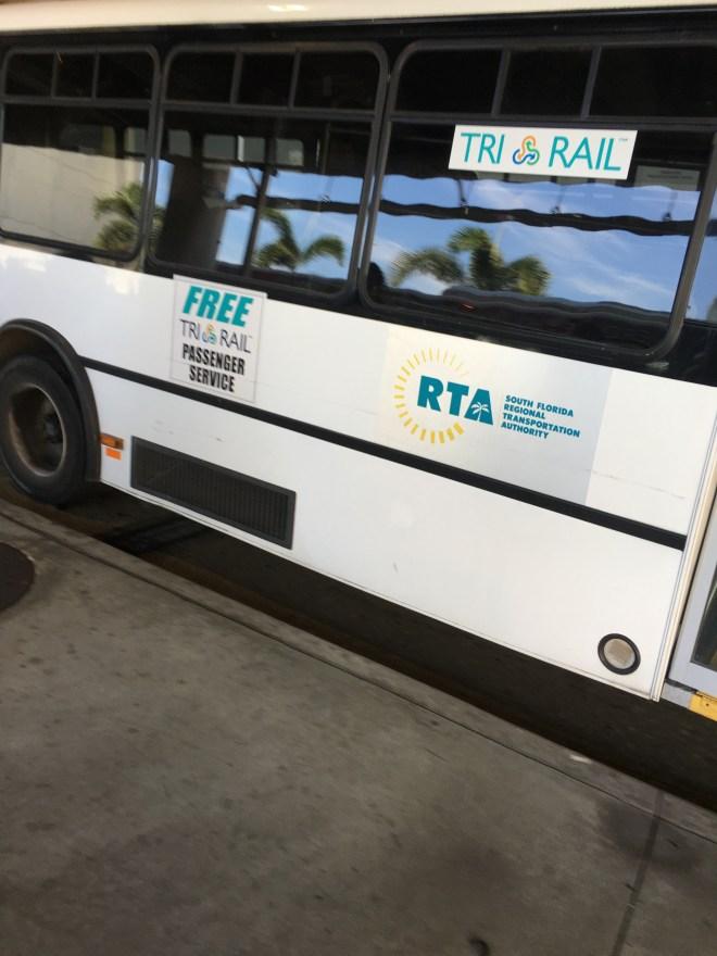TriRail Shuttle Bus