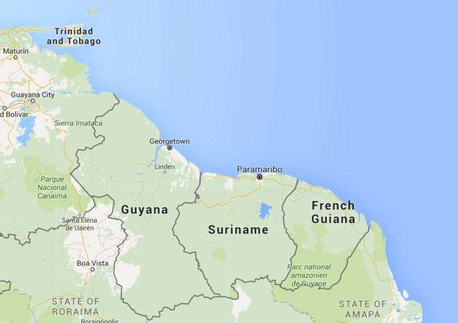 The Three Guyanas