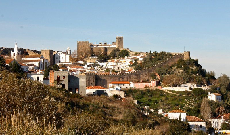 Walled city of Obidos