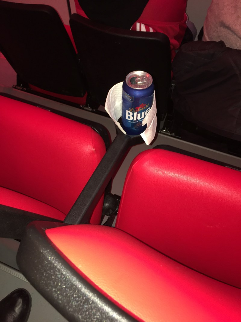 Little Cesar's Arena Cup Holders