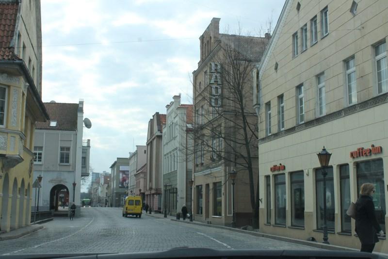 Downtown Klaipeda