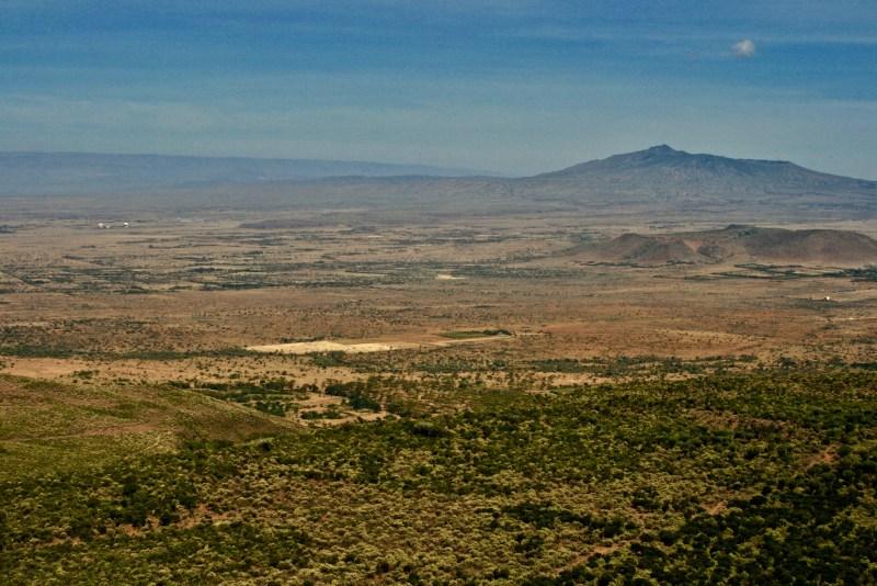 Overlook of East African Rift Valley